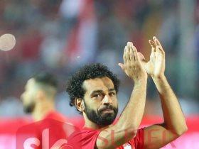 محمد صلاح نجم منتخب مصر