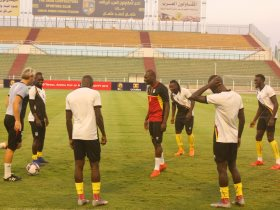 أوغندا يبدأ الاستعداد لمعركة السنغال المقبلة