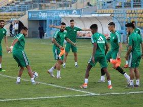 منتخب الجزائر يختتم مرانه الرئيسي لمواجهة غينيا