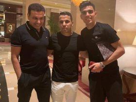 خالد الغندور مع بن شرقي