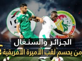 نجوم الجزائر والسنغال
