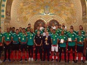 المنتخب الجزائرى