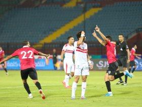 مباراة الزمالك واف سى مصر