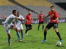 مشاهد من مباراة مصر وبتسوانا