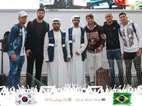 انضمام لاعبى البرازيل لمعسكر أبو ظبي