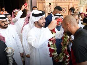 استقبال منتخب البحرين