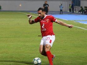 على معلول يسجل الهدف الرابع فى مباراة الأهلي ضد الاتحاد السكندري