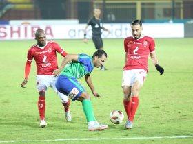 اهداف مباراة الأهلي ضد مصر المقاصة الأخيرة في الدوري المصري