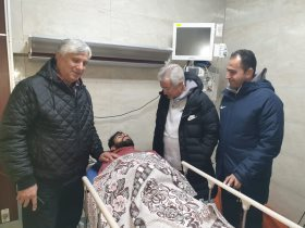 اصابة محمد رزق لاعب انبى