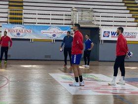 مران منتخب مصر لكرة اليد استعداداً لمواجهة غينيا فى الامم الافريقية