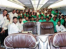 بعثة الأخضر الأولمبي إلى الرياض بعد نهاية كأس أمم آسيا تحت 23 سنة