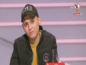 سعد محمد ناشئ الزمالك المصاب بالسرطان