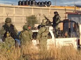الشرطة المكسيكية تطوق مكنا الحادث
