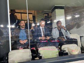 رونالدو يصل لملعب البرنابيو لحضور كلاسيكو الأرض بين ريال مدريد ضد برشلونة