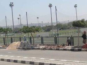 المقاولون العرب يواصل عمليات الصيانة لمقر النادي