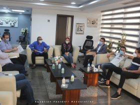 شاهد اجتماع اللجنة الخماسية مع حسام البدري وغريب