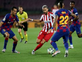 برشلونة وأتلتيكو مدريد
