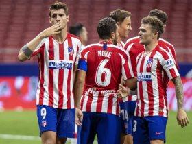 10 أرقام تمنح ألفارو موراتا أفضل لاعب في مباراة أتليتكو مدريد ضد ريال مايوركا