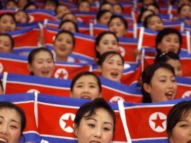 جماهير كورية الشمالية