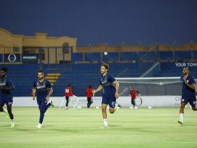 مشاهد من تدريبات الجونة الحماسية استعدادا لعودة الدوري المصري