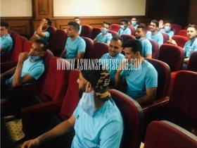 أسوان يختتم استعداداته لمواجهة إنبي في الدوري المصري