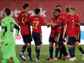 منتخب اسبانيا يبدأ الإستعداد لمواجهة سويسرا وألمانيا