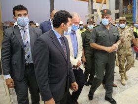 وزير الرياضة أشرف صبحى