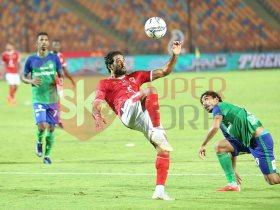 نتيجة مباراة الاهلي والمقاصة في الدوري المصري