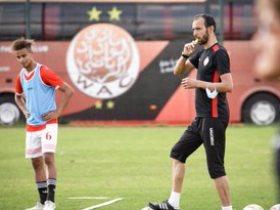 تدريبات فريق الوداد المغربي استعدادا لمنافسات الموسم الكروي المقبل