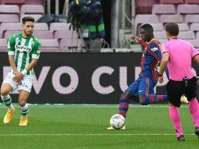 برشلونة يعلن إصابة عثمان ديمبيلي للمرة الثامنة