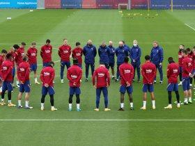 كواليس تدريبات برشلونة الختامية لمواجهة يوفنتوس في دوري أبطال أوروبا