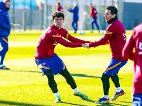 برشلونة يختتم استعداداته لمواجهة ليفانتي في الدوري الإسباني